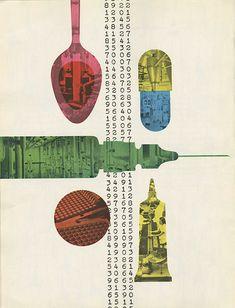 Will Burtin's Beauty Illustration Design Graphique, Graphic Illustration, Art Design, Design Elements, Vintage Graphic Design, Retro Design, Print Magazine, Book Cover Design, Book Design