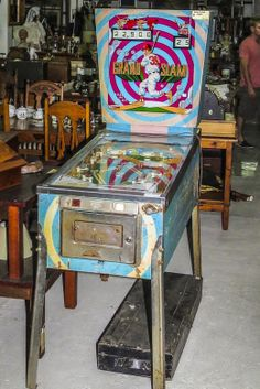 Authentic Pinball machine, in working condition. #Dedekke has just received this piece of history and has put it on sale. A blast from the past. #pinball