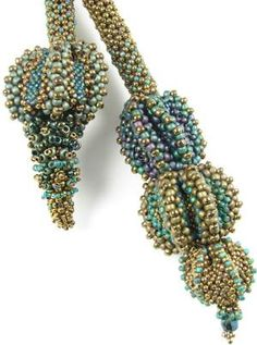 Urchin Lariat - I'd love this kit...  by Marcia de Coster