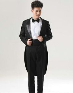 formal dress suit tuxedo | ... formal dress black tuxedo Christmas ...