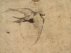 Swift | Vincent van Gogh | 1887  Love this. Would be lovely in a MAster bedroom