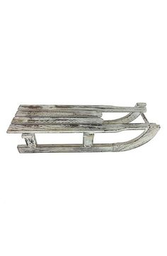 Shea's Wildflower Distressed Wood Sled
