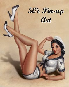 50's Sailor Pin Up
