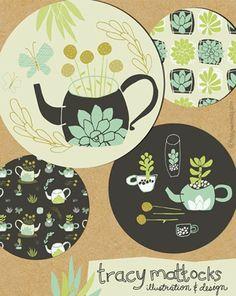 Tracy Mattocks, via print & pattern: SURTEX 2014 - flyers part one