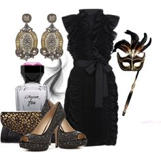 Mascarade Ball, created by berry1975 on Polyvore