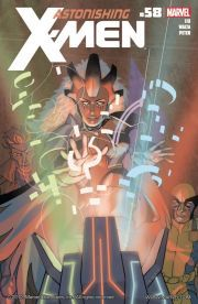Astonishing X-Men #58    Warbird is on the run, labeled an enemy of Earth as well as of the Shi'Ar! The X-Men must choose whether to help her or bring her in. What's the secret of the alien artifact she's uncovered?