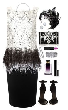 """2016 princess"" by blueonyx25 ❤ liked on Polyvore featuring Alexander McQueen, Carolina Herrera, Isabel Marant, Judith Leiber, STELLA McCARTNEY, Swarovski, Chanel, Colette Malouf, Kobelli and NARS Cosmetics"