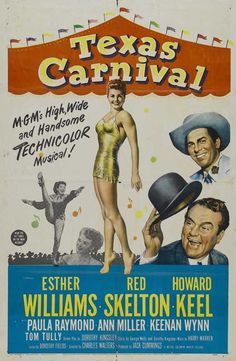 """Texas Carnival"" movie poster"