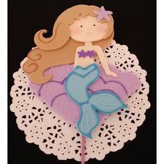 100% Quality Cute Mermaids Edible Cupcake Toppers Decoration Baking Accs. & Cake Decorating ocean, Sand, Beach, Fish, Sea