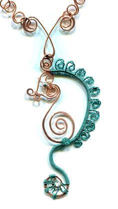 The Beading Gem's Journal: How to Make a Wire Wrapped Sea Horse Tutorials