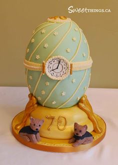 Faberge egg birthday