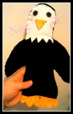 (one of the first things I made) Eagle Plush