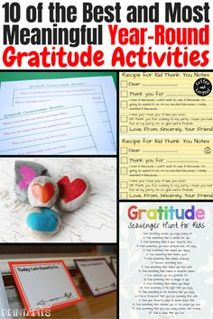 10 of the Best and Most Meaningful Year-Round Gratitude Activities Parenting Advice, Kids And Parenting, Natural Parenting, Kindness Activities, Teaching Kindness, Bible Activities, Family Activities, Special Needs Mom, Activities For Adults