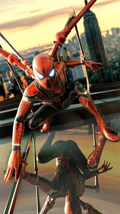 Marvel Dc, Marvel Comic Universe, Marvel Heroes, Spiderman Art, Amazing Spiderman, Nemesis Prime, Avengers Alliance, Movies And Series, Iron Spider