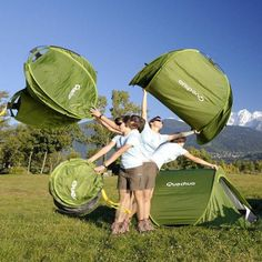 2-Second Pop Up Tent by Quechua - $140