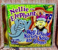 Nellie the Elephant & Well Loved Nursery Songs and Rhymes Nursery Songs, Kids Nursery Rhymes, Beautiful Songs, Love Songs, Cds For Sale, Rhymes Songs, Elephant Love, Better Love, My Ebay