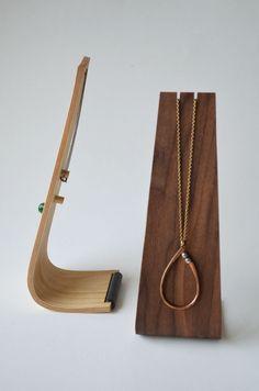 Single Necklace Stand. $20.00, via Etsy.