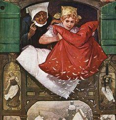 Frau Holle, Hel, Perchta oder auch Berchta ist ein wichtiger Bestandteil des deutschen Volksglaubens. Ihr wird am 6. Januar gehuldigt, dem Tag, an dem auch die gefürchteten Rauhnächte enden.