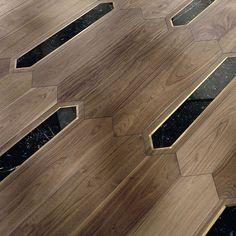 Wood Floor Design, Wood Floor Pattern, Floor Patterns, Tile Design, Design Design, Wood Parquet, Parquet Flooring, Wooden Flooring, Hardwood Floors