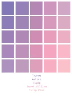 How to Choose The Colour Palette For Your Wardrobe « instyles. Pantone Colour Palettes, Purple Color Palettes, Pastel Colour Palette, Colour Pallette, Pantone Color, Colour Schemes, Color Combos, Pastel Colours, Purple Palette