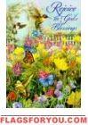 Rejoice Garden Flag Ladybug Garden, Garden Flags, Pansies, Bee, Plants, Painting, Decor, Honey Bees, Decoration