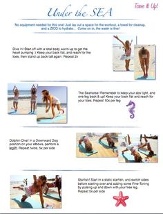 Your Under the Sea Workout ~ A total body routine you're going to love!