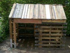 Pallet doghouse