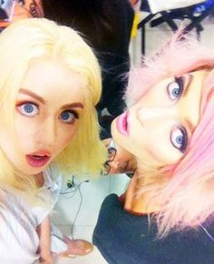 Away In Paris: | Sophie Sumner & Allison Harvard