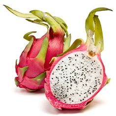 Pitaya - An edible cactus? You bet! Commonly known as dragon fruit, the pitaya is a member of the cactus family with a hard-to-miss pink skin and scaly leaves.