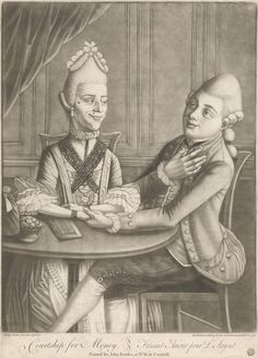 Courtship for Money, 1771. Yale Center for British Art, B1970.3.855