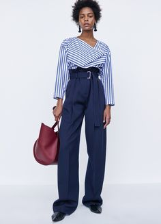 Hem these pants and I would love this Céline Look 11 / Spring 2016 even more!