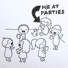 These three illustrations accurately put into perspective what it's like to be an introvert