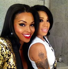 Keyshia Cole And Idk Amiyah Scott Keyshia Cole Flawless Beauty