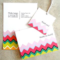 Top Tips for Children's Party Planning: Party Trend - Chevron Stripes