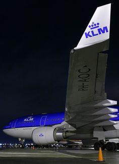 """KLM Airbus A330-203 PH-AOC """"Place de la Concorde - Paris"""" - It is the third of twelve A330-200s that have joined the KLM fleet since 2005."""