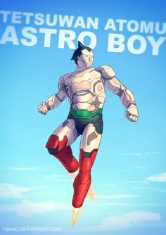 Astro Boy #BADASS by Tohad