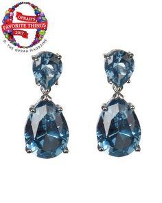 Aquamarine Double Drop Earrings