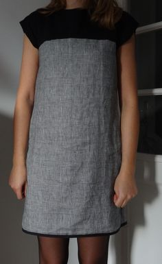 robe bicolore (2)