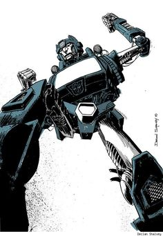 The Transformers' Kup by Declan Shalvey