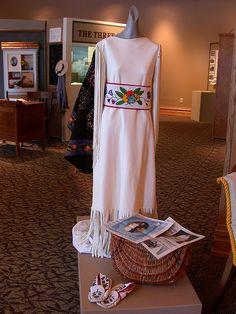 Native American Wedding Dress by Prairie Renaissance, via Flickr