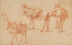 Old Master & British Drawings Including Works from the Collection of Jean Bonna Turner Watercolors, Annibale Carracci, Joseph Mallord William Turner, Chalk Drawings, Pierre Auguste Renoir, Fine Art Auctions, Italian Renaissance, Old Master, Figure Drawing