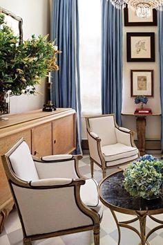Ivory Club Chairs