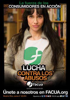 Beatriz Rico, socia de FACUA nº 48.204, llama a los consumidores a la lucha contra los abusos
