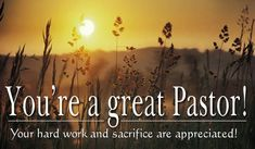 Free Great Pastor eCard - eMail Free Personalized Clergy Appreciation Day Cards Online