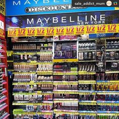 Repost from @sale_addict_mum: It's 50% off the entire range of #Maybelline at #chemistwarehouse #onsale until  Aug 3 2017