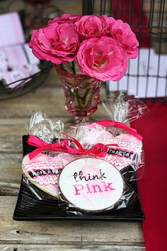 Cancer gift bags breast