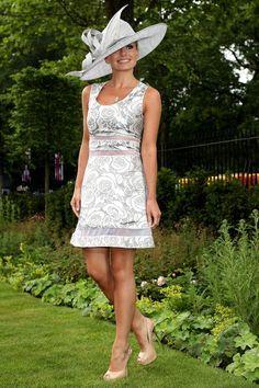 Katherine Jenkins in Richard Nicoll, Ladies Day, Royal Ascot #katherinejenkins #richardnicoll #ladiesday #ascot