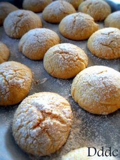 Biscotti marocchini - GHORIBA AL COCCO