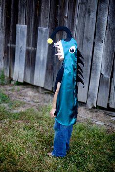 Deep Sea Angler Fish Children Cape Halloween by pipandbean, $49.00