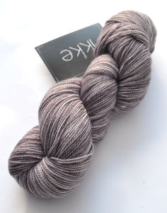 Has The Moon Lost Her Memory? - MCN Sock Yarn, hand dyed, fingering, sock yarn, high twist, cashmere, merino, luxury, soft, speckle.